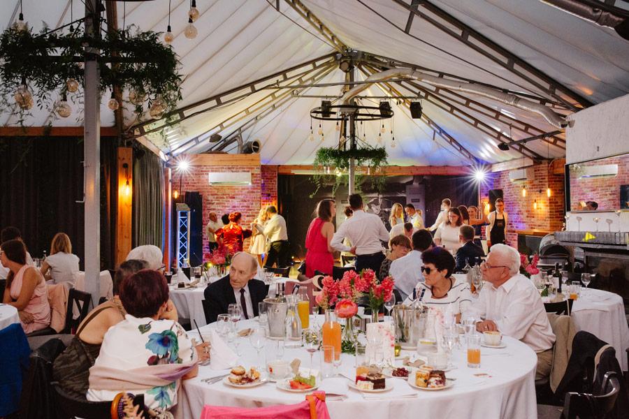 Przyjęcie weselne w Kuźni Kulturalnej w Warszawie